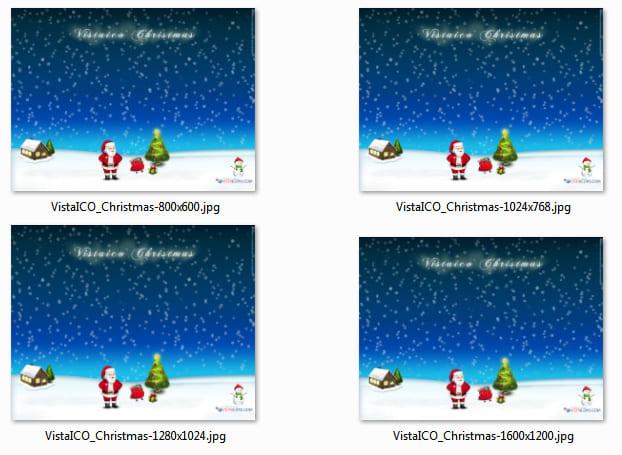 Ikony i tapety VistaICO Christmas