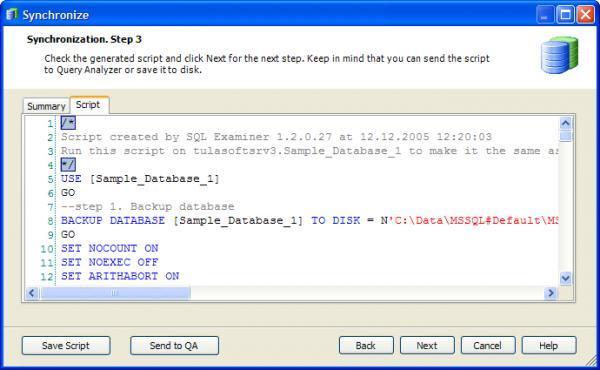 SQL Examiner
