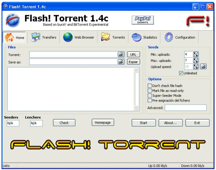 Flash! Torrent