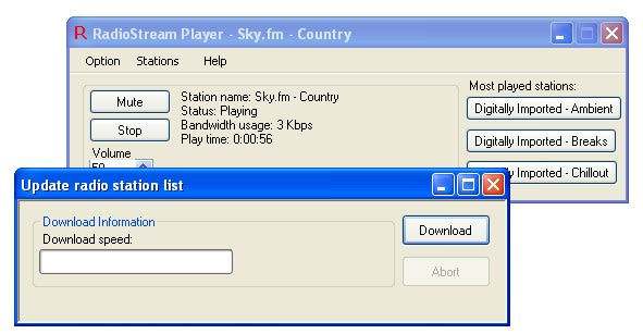 Radio Stream Player