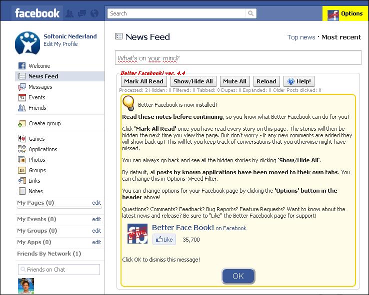 Better Facebook
