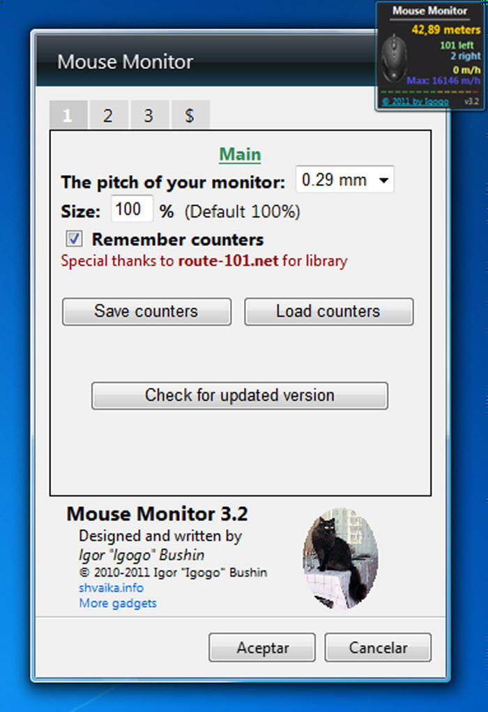Mouse Monitor