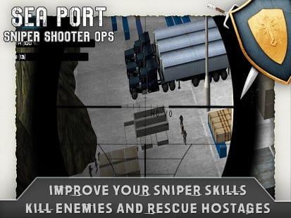 Sea Port Sniper Shooter Ops
