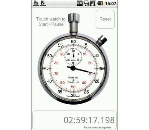 ultimate stopwatch timer f r android download. Black Bedroom Furniture Sets. Home Design Ideas