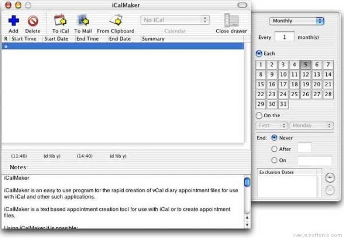 iCalMaker