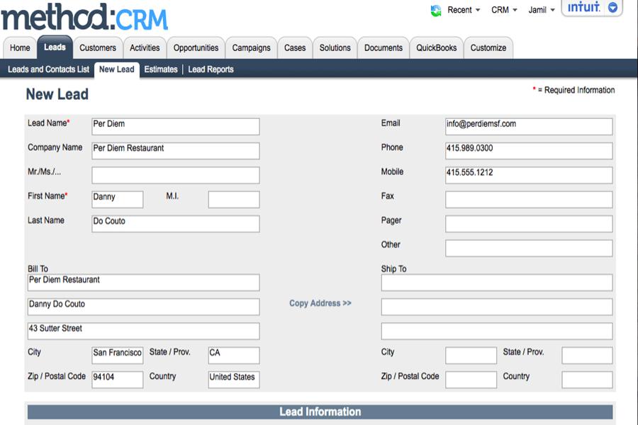 Method:CRM