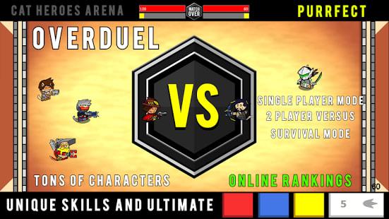 OVERDUEL : Cat Heroes Arena - Watch Over Duel game
