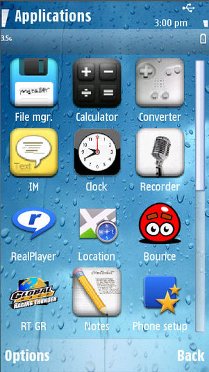 Thème iPhone 4