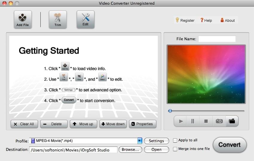 iOrgSoft Video Converter