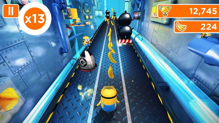 Despicable Me 2 Minion Rush  Huawei P9