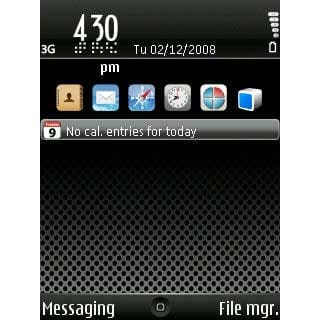 Tema iPhone Dark