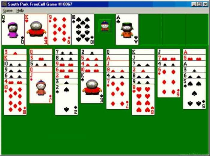 South Park FreeCell