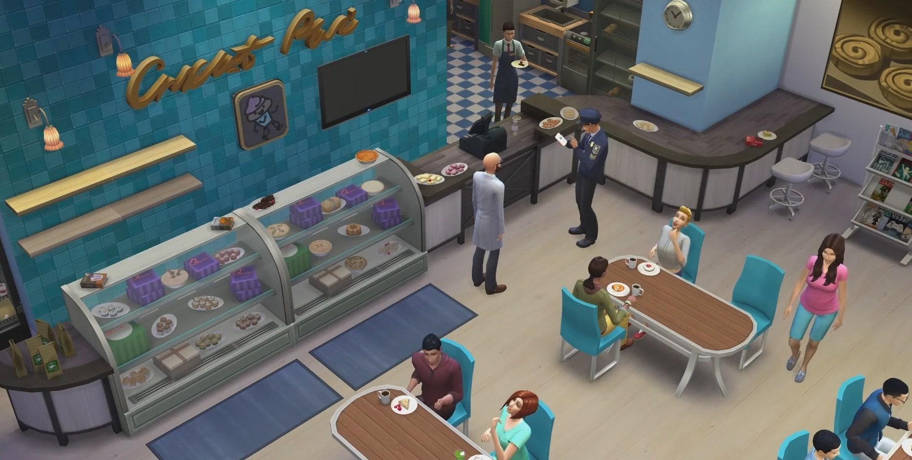 Les Sims 4: Au travail!