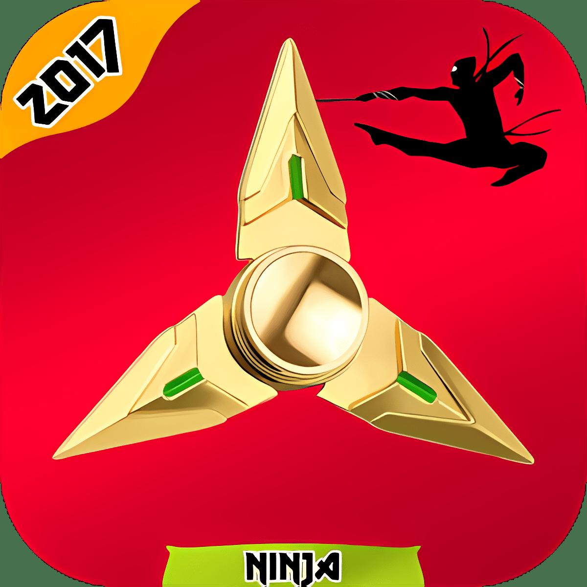 Ninja Fidget Hand Spinner