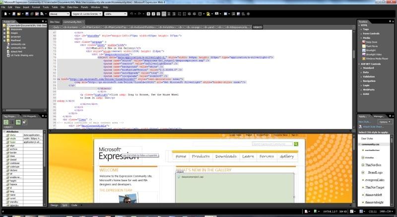 Expression Studio 4 Web Professional