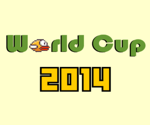 New Flappy Bird World Cup 2014 - 32 levels