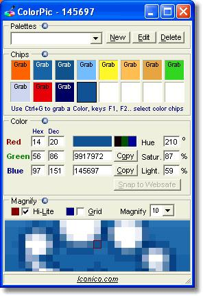 ColorPic Is A Free Windows Program Being Part Of The Category Design Photography Software With Subcategory Web More Specifically Color Coding