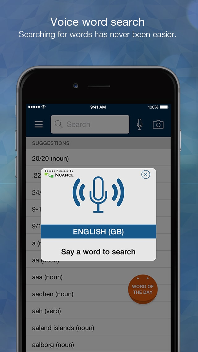 Advanced English Dictionary and Thesaurus with Audio