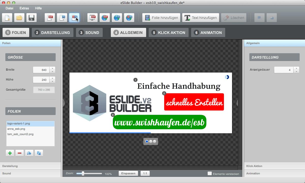 eSlideBuilder