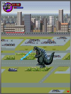 Godzilla Monster Mayhem