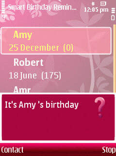 Smart Birthday Reminder