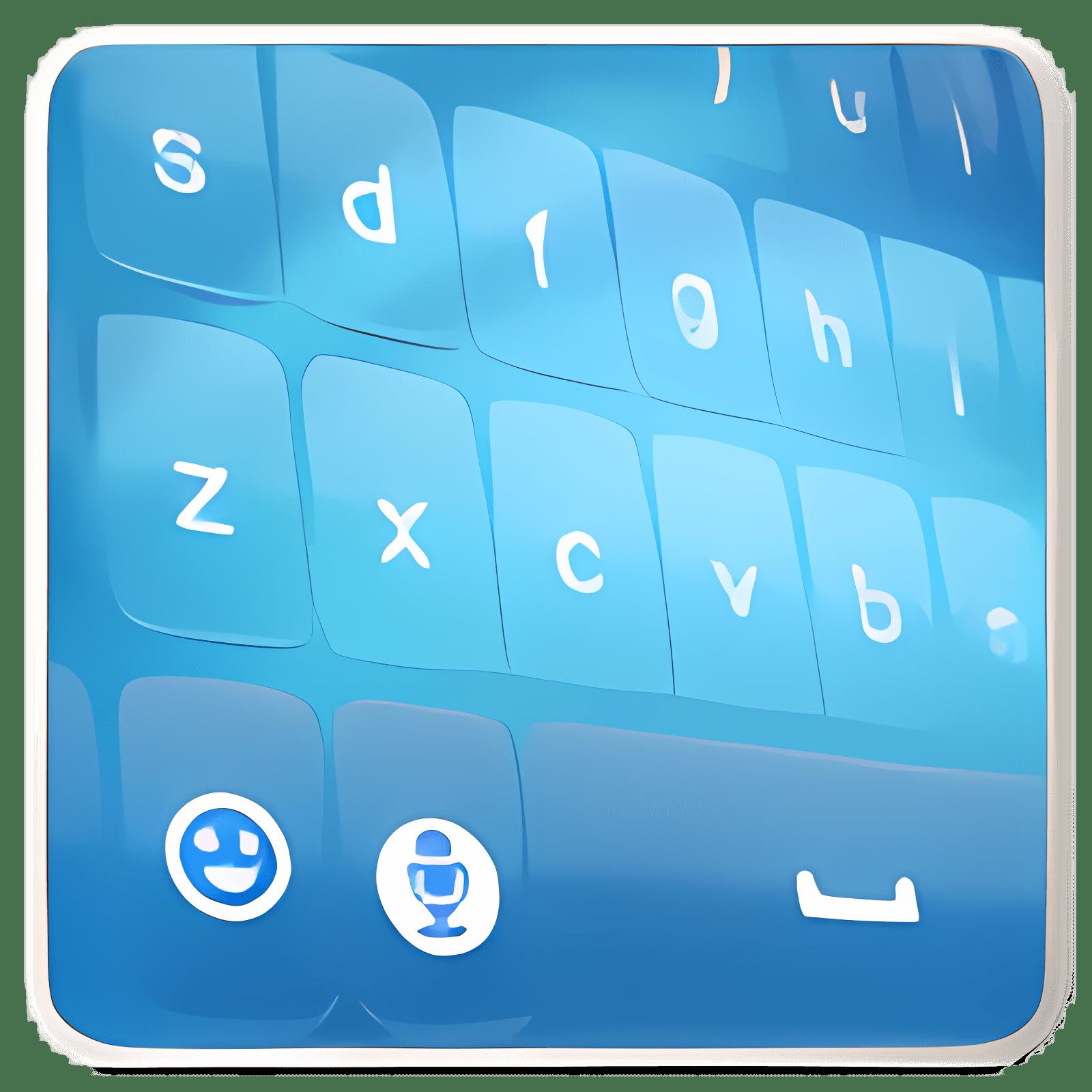 Blue Keyboard 1