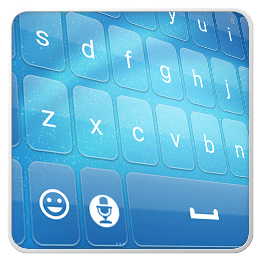 Blue Keyboard 1