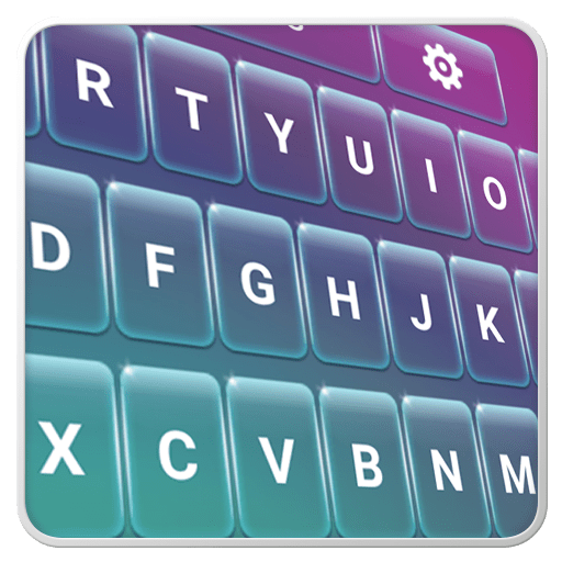 Glass Keyboard Theme