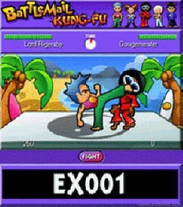BattleMail Kung-Fu