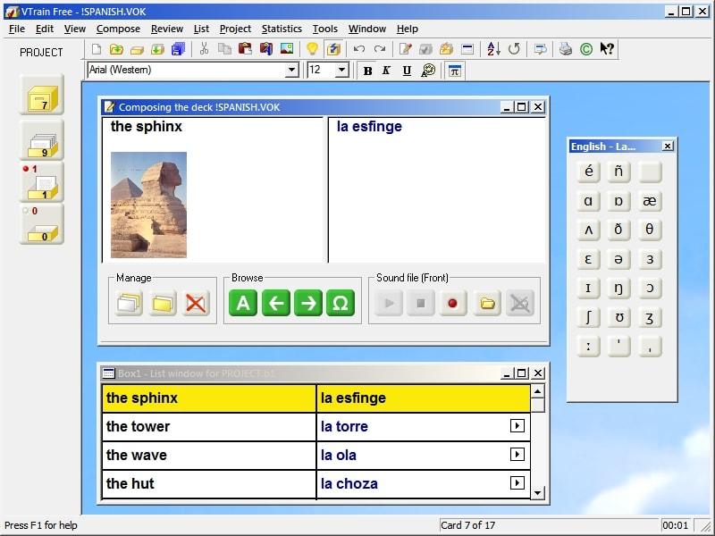 VTrain (Vocabulary Trainer) Free