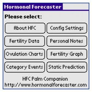Hormonal Forecaster Palm Edition