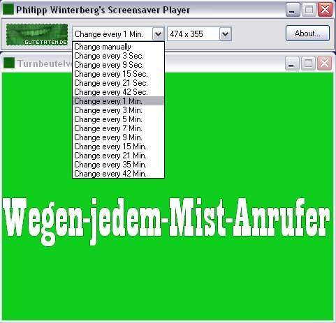 Screensaver Player