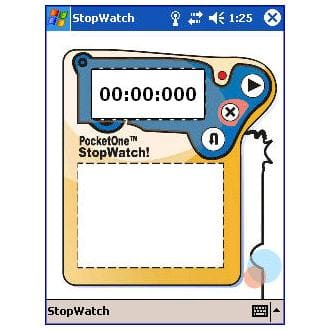 PocketOne StopWatch