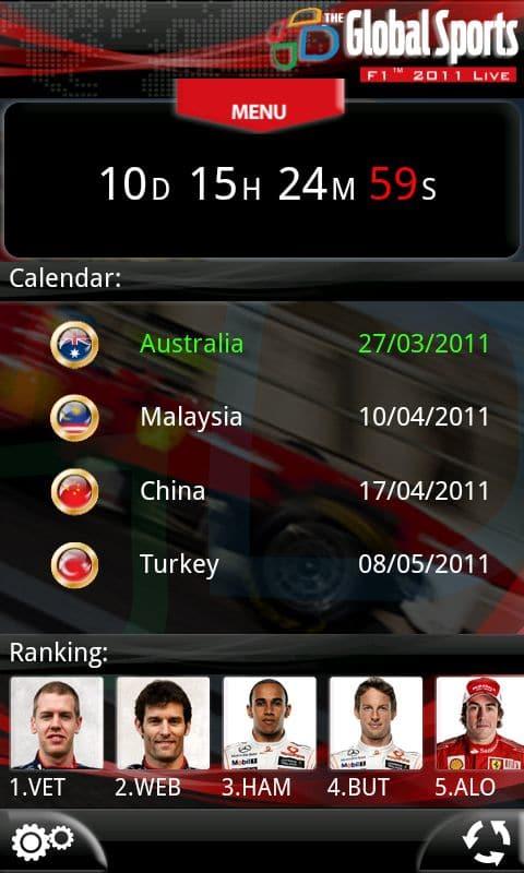 F1 2011 Live