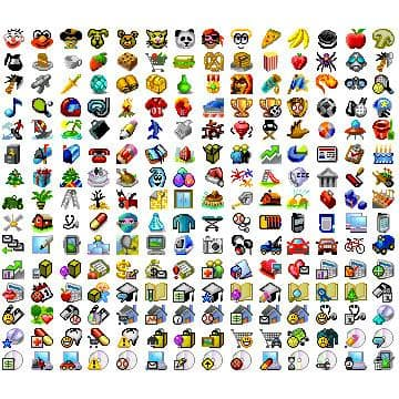 Ultimate VGA 3D Icons