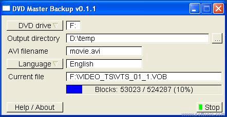 DVD Master Backup