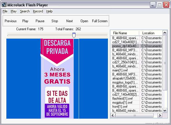 Microluck Flash Player