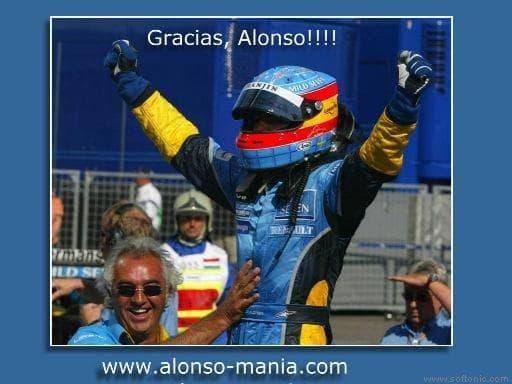 Salvapantallas de Fernando Alonso