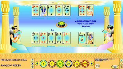 Anubis Pai Gow Poker