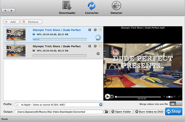 Apowersoft Video Converter for Mac
