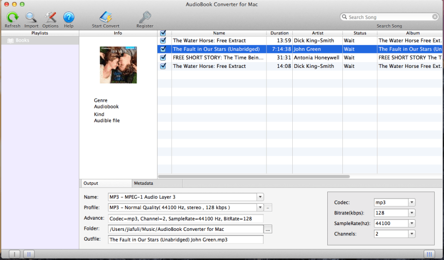Mac AudioBook Converter