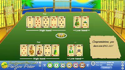 Frigate Pai Gow Poker