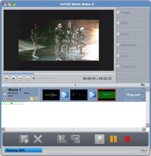 ImTOO Movie Maker for Mac