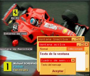 Ferrari F1-2000 Themes