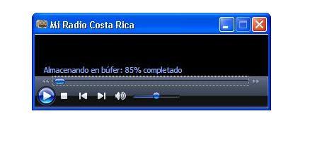 Reproductor Mi Radio Costa Rica Lite
