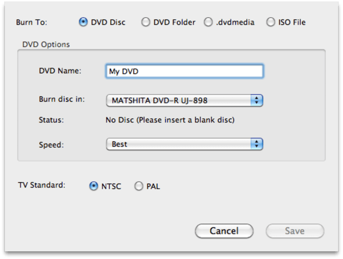 Wondershare DVD Creator for Mac
