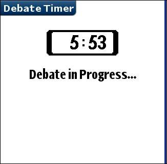 DebateTimer