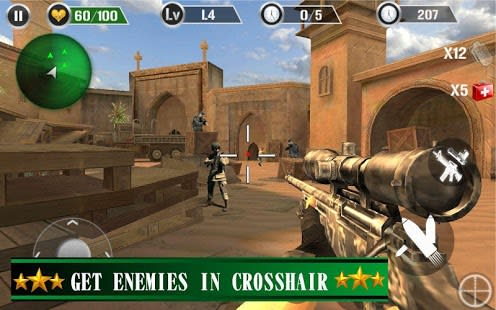 Commando Gun Shoot Strike War