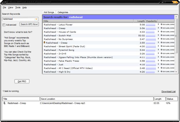 Music MP3 Get