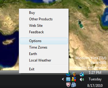 LIVING EARTH DESKTOP